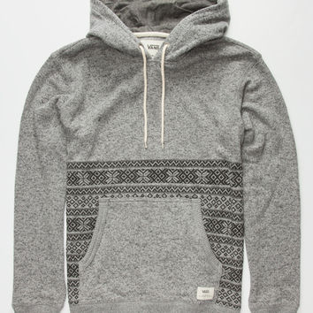 Vans Harpster Mens Hoodie Heather  In Sizes