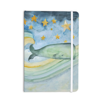 "Jennifer Rizzo ""Swimming WIth The Stars"" Illustration Animals Everything Notebook"
