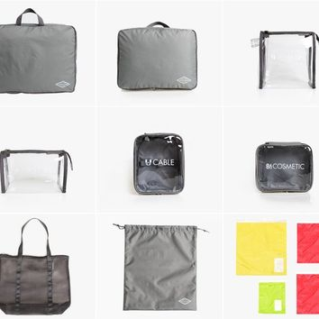 Rainbow Airlines Travel Pouch Set