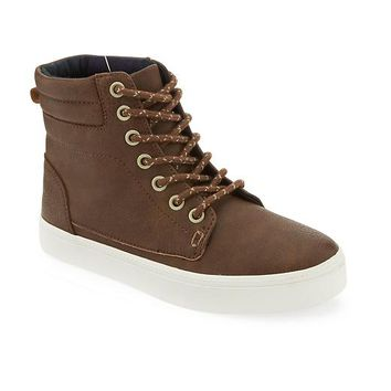 Old Navy Faux Leather High Tops