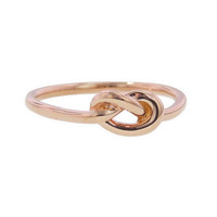 Finn: Love Knot Ring - Rose Gold - YLANG 23 - Ylang 23