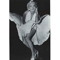 """MARILYN MONROE /""""WHAT A LIFE/"""" POSTER PRINT SETS OF 4 IMAGES 24/""""X36/"""" NEW"""