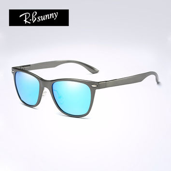 R.Bsunny R7043  Brand Unisex Aluminum fashion Men's Polarized Mirror Sun Glasses Female Eyewears Accessories Sunglasses For Men