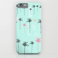 Tropical Palm Dreams  iPhone & iPod Case by Sunkissed Laughter