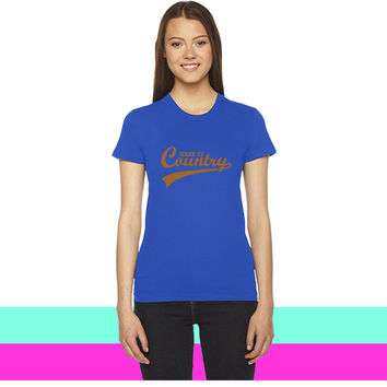 KEEP IT COUNTRY women T-shirt