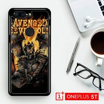Avenged Sevenfold A7X Logo Y0560  OnePLus 5T / One Plus 5T Case