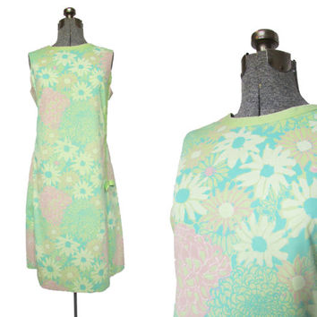 Lilly Pulitzer Dress // Vintage 60s Dress // Vintage Lilly Dress // Vintage Shift Dress //   Large XL