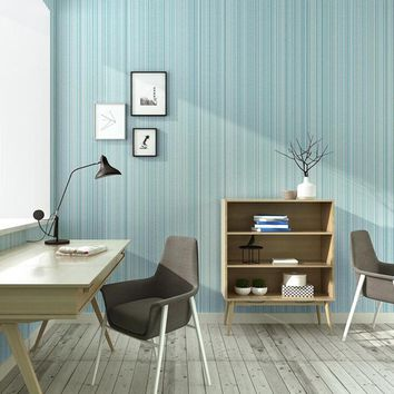3D Wallpaper Modern Vertical Stripe Non-Woven Environmental Protection Wallpaper Living Room Study Bedroom Home Decor Wall Paper