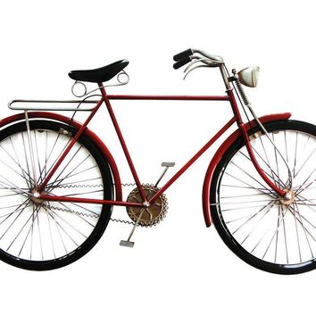 Cruiser Bike Red