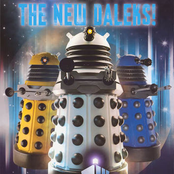 Doctor Who The New Daleks Poster 24x36