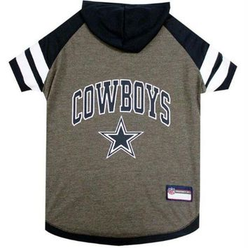 ONETOW Dallas Cowboys Pet Hoodie T-Shirt