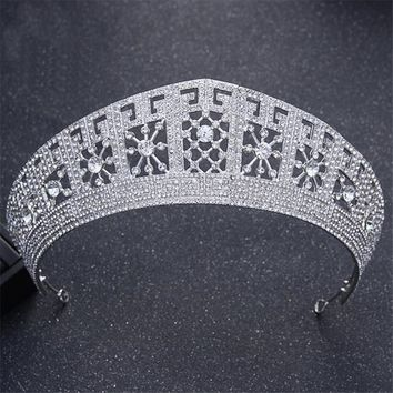 Tiaras And Crowns High Quality Luxury Baroque Style Wedding Crown