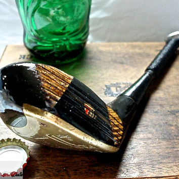 Golf Club Bottle Opener-- Professional Model Wilson Staff 4 Wood --OOAK