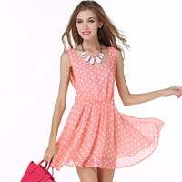Fashion Polka Dot Women's Dress