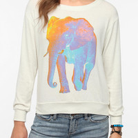 Urban Outfitters - Truly Madly Deeply Psychedelic Elephant Long-Sleeved Tee