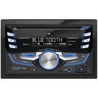 Dual Double-din In-dash Cd Am And Fm Receiver With Bluetooth