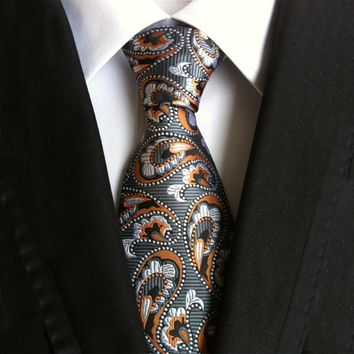 Men's Ties Fashion suit vintage Polyester