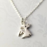 Cute Dragon Necklace, Sterling Silver Dragon Pendant Necklace, animal Necklace, animal Pendant Necklace, Dragon Jewelry, Gift for Her