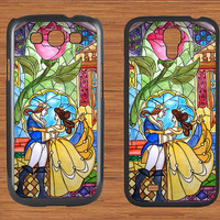 Beauty and the Beast Samsung Galaxy S3 S4 Case,Flowers Rose Galaxy S3 S4 Hard Case,cover skin Case for Galaxy S3 S4,More styles for you