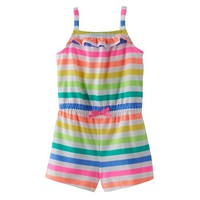 Baby Girl Jumping Beans® Patterned Romper