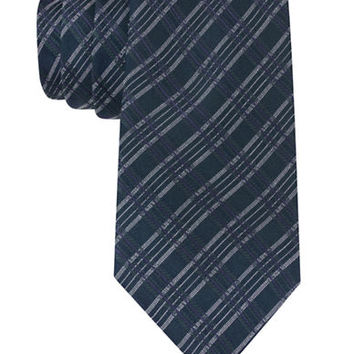 John Varvatos U.S.A. Plaid Silk-Blend Tie