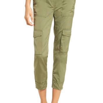 Tracy Reese Tech Taffeta Cargo Pants | Nordstrom