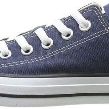 DCCKJY6X Converse Chuck Taylor All Star Ox Dark Navy Textile Trainers