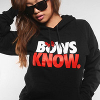 The Bows Know Hoody