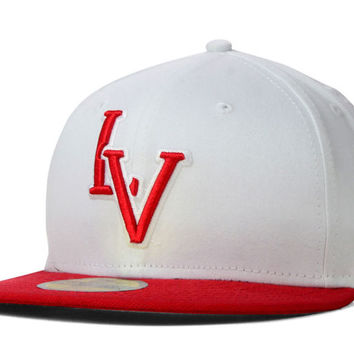 UNLV Runnin Rebels NCAA White 2 Tone 59FIFTY Cap