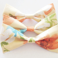 Summertime Floral Bow