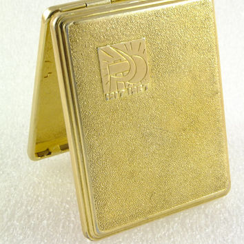 Vintage LIttle Cigarette Case /Soviet Metal Cigarette Case - Unique Original Gift Idea Business Card