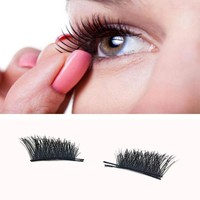 Women's makeup magnetic eyelash popular 3d lashes