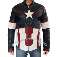 Captain America Avengers Age of Ultron Jacket | DesertLeather