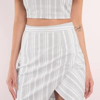 Remember Me Stripe Skirt