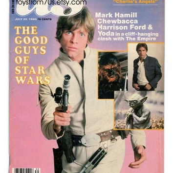 The good guys of Star Wars, US Magazine July 22, 1980 - great Star Wars collectible, gifts, vintage Star Wars