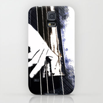 Jazz Bass Poster iPhone & iPod Case by Cinema4design