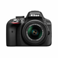 Walmart: Nikon D3300 Digital SLR with 24.2 Megapixels and 18-55mm Lens Included (Available in multiple colors)