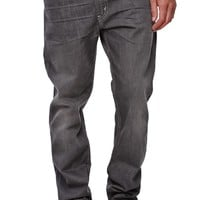 Levi's 513 Slim Straight Jeans - Mens Jeans - Gray
