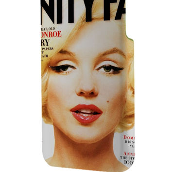 Best 3D Full Wrap Phone Case - Hard (PC) Cover with marilyn manore Design