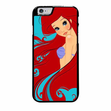 ariel the little mermaid on tiffany blue iphone 6 plus 6s plus 4 4s 5 5s 5c 6 6s cases