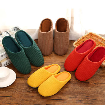 Home Anti-skid Shoes Slippers [8102199105]