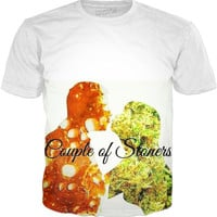 Couple of Stoners- T-Shirt