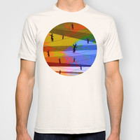 Tightrope T-shirt by Tony Vazquez