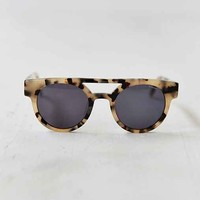 KOMONO CRAFTED Dreyfuss Ivory Demi Sunglasses- Ivory One