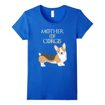 Cute Funny & Unique Corgi Dog & Puppy Mom T-Shirt & Gift