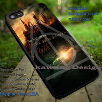 Harry Potter Voldemort Deathly Symbol and Quote iPhone 6s 6 6s+ 5c 5s Cases Samsung Galaxy s5 s6 Edge+ NOTE 5 4 3 #movie #HarryPotter dt