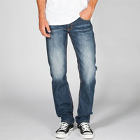 Rsq New York Mens Slim Straight Jeans Tornado Wash  In Sizes
