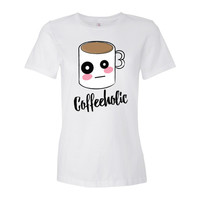 Coffeeholic Women's short sleeve t-shirt