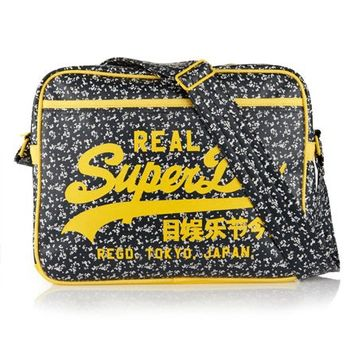 Womens - Ditsy Alumni Bag in Navy | Superdry