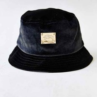 Stussy X UO Velvet Bucket Hat- Black